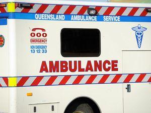 Single vehicle accident in Nanango