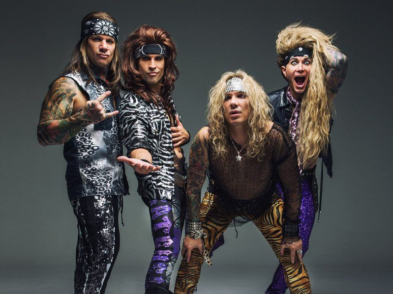 The band Steel Panther.