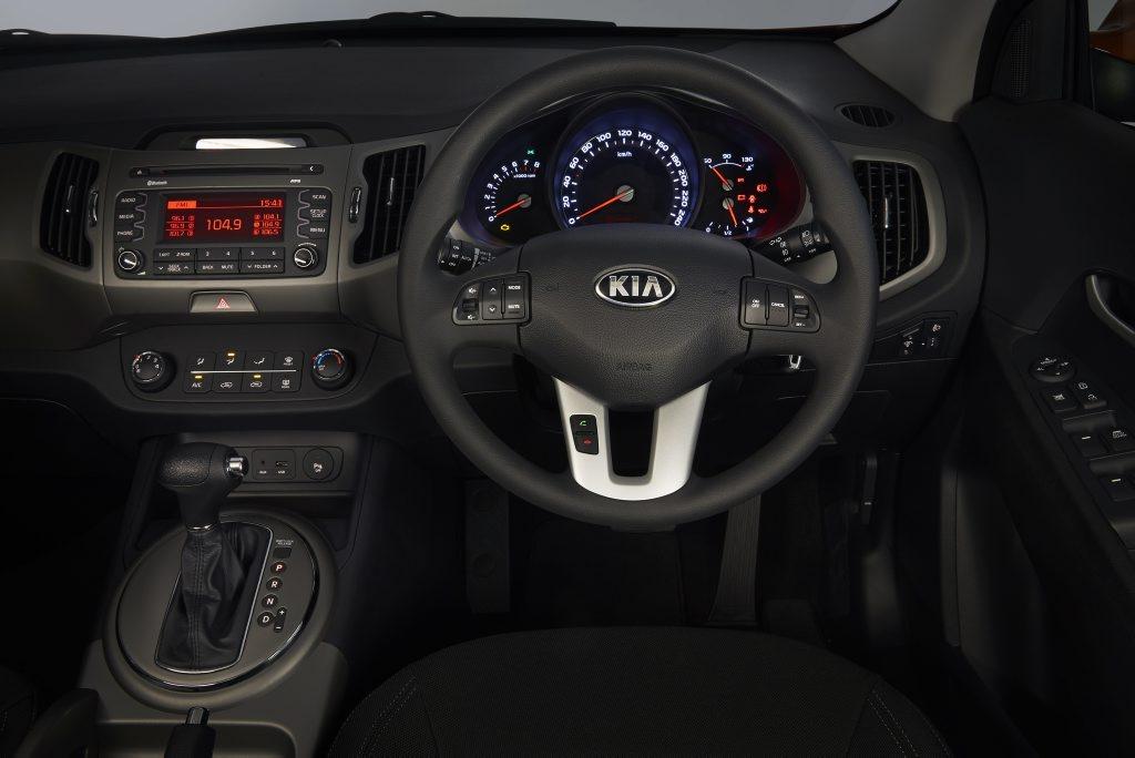 2014 Kia Sportage Si interior