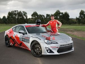 Toyota 86 coupe grassroots motorsport series green light