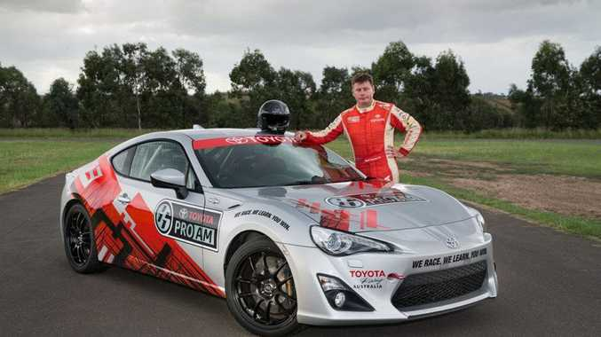 Neal Bates with the Toyota 86.
