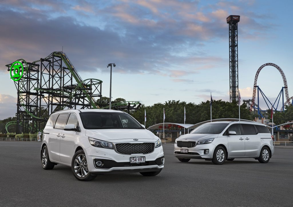 The MY15 Kia Carnival has been launched with a choice of diesel and petrol engines across four trim levels.