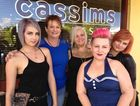 Ashleen Francis, Judy Jackson, Tilly Munro, Cassie Gunkel and Tahnee Blake at Cassims Hair Design - Hervey Bay's favourite hairdresser according to the Chronicle's Facebook readers.