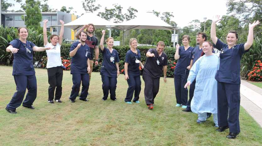 KICK START: New graduate nurses and midwives are taking up rounds at the Coffs Harbour Base Hospital.