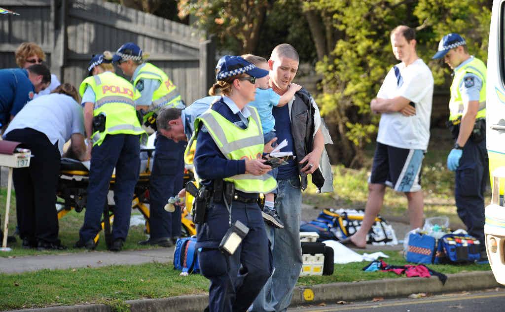 TRAGIC SCENE: Joshua Adam Thomas has had his sentence for dangerous driving causing death reduced.