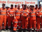 Mackay and Whitsunday SES members looked pleased with their efforts after returning from Rockhampton this week.