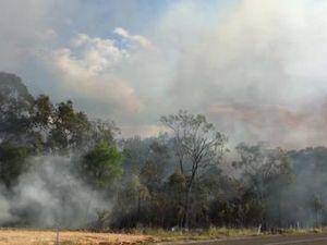 Boyne Island controlled burn