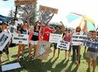 Hundreds rally to demand axing of West Byron development