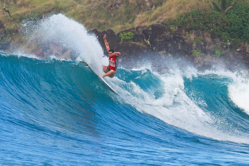 Tyler Wright of Lennox Head, NSW, Australia (pictured) placed runner-up at the Target Maui Pro after she was defeated by eventual champion Carissa Moore (HAW) in the final, on Thursday November 27, 2014. Wright's runner-up finish, earned her the 2014 World No. 2 positon on the ASP Rankings behind 2014 ASP World Champion Stephanie Gilmore who clinched her sixth ASP World Title today.