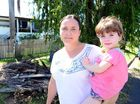 Kathleen Heslin and her daughter Abby Jones, age 2, found out they weren t eligible for the disaster relief payment following Cyclone Marcia. Photo Sharyn O'Neill / Morning Bulletin