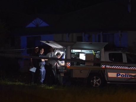 Three people are dead after a shooting at Biddeston, west of Toowoomba. Father, daughter among fatal shooting victims.
