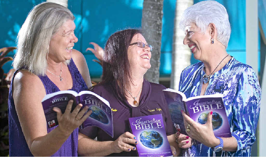 A BOOK TO INSPIRE: Kym Lawn, Julie Knight and Lynn Lapham share their stories of inspiration across the globe.