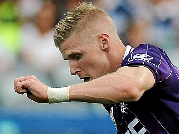 KEY MAN: Andy Keogh needs to start scoring goals again if Perth Glory is to have a shot at its first A-League title.