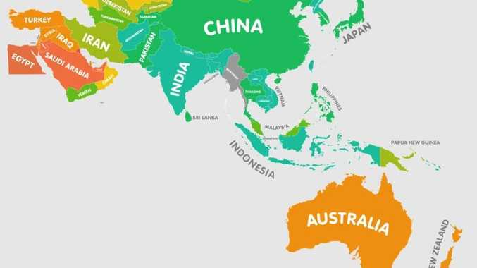 Australia A Chubby Orange On Map Of World Obesity Morning Bulletin
