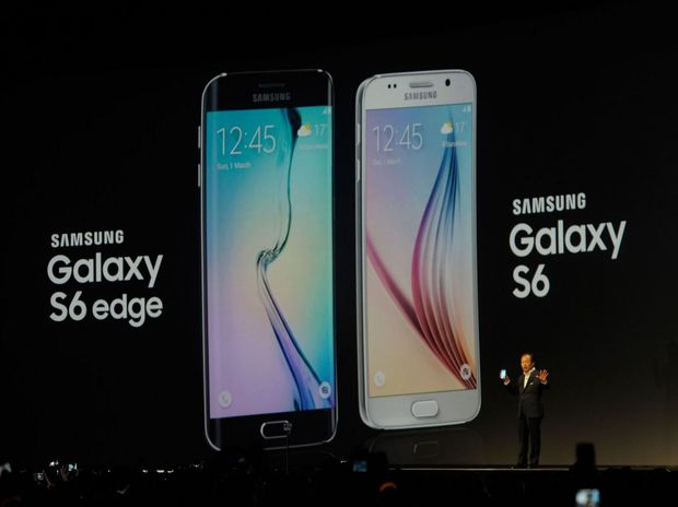 The Galaxy S6 and S6 Edge unveiled in Barcelona.