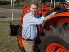 Heritage Bank Ag Show CEO Damon Phillips says there are lots of new things to do at this years Ag Show, Friday, August 29, 2014. Photo Kevin Farmer / The Chronicle