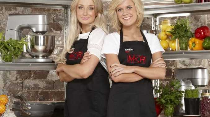 MKR Girls Sheri Eddington and Emilie Biggar have been given a second chance.