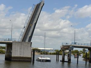 Marina bridge open to traffic for the weekend
