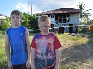 Family of four left without home after fire guts house