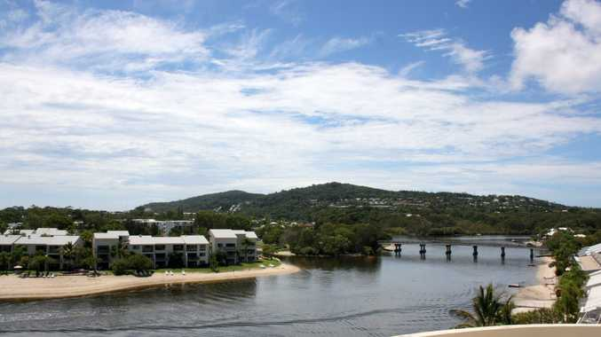 Noosa River, looking towards Noosa Heads. Noosa catchment was rated the Coast's healthiest in the 2015 Healthy Waterways Report Card