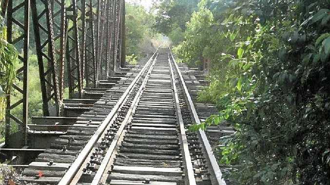 RAIL TRAIL: The Eltheam Bridgemay become part of the North Coast Rail Trail. Photo Contributed