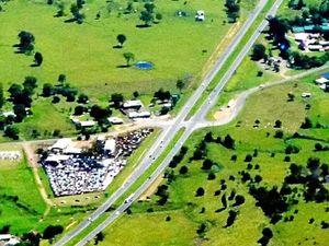 Flyover for Minden at Warrego Highway