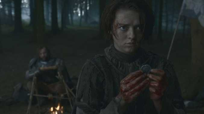 As she turns 18, the Game of Thrones star talks learning to be 'a famous person'