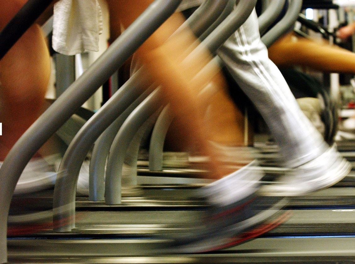 The simple test only requires a treadmill