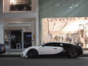 The fast and furious 2012 Bugatti Veyron Super Sport