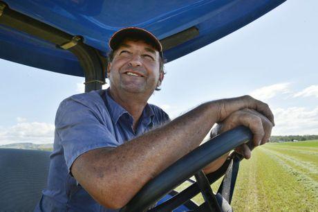Forest Hill farmer Glenn Lerch. Photo Inga Williams / The Queensland Times