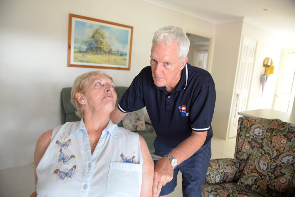 HUGE BILL: Margaret and Leigh Evans gave a house to their disabled son and are now being hit with a massive capital gains tax bill. Photo: Max Fleet / NewsMail