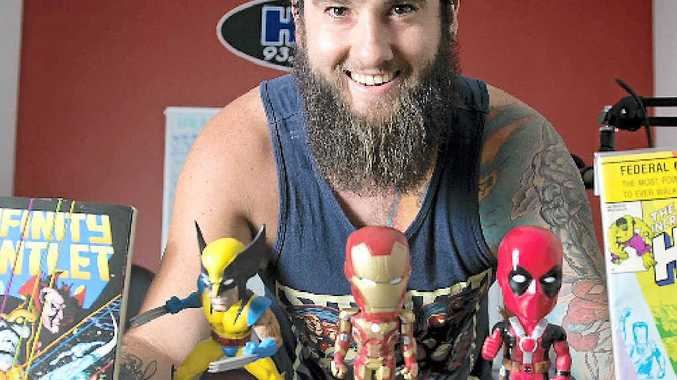 HOT COLLECTION: HOTFM's Paul 'Browny' Brown has loved Marvel comic books since childhood.