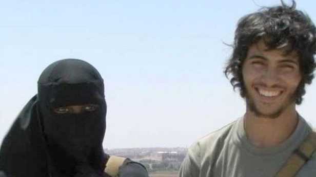 Khadijah Dare and her husband, Abu Bakr, in a British documentary