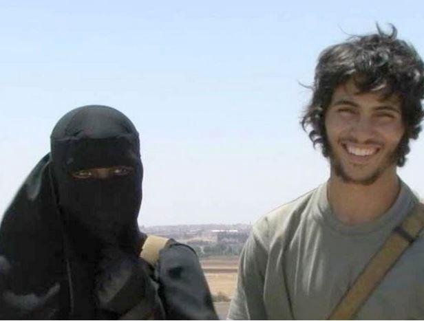 Khadijah Dare and her husband, Abu Bakr, in a British documentary