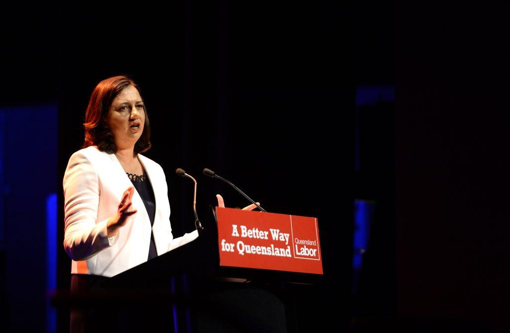Annastacia Palaszczuk uses Brisbane forum to spruik development funding