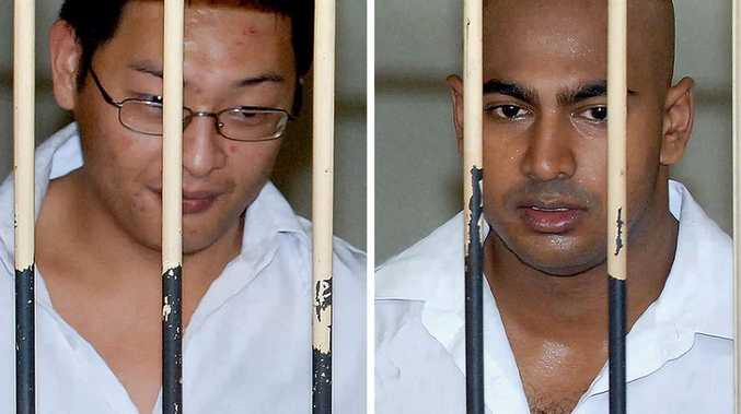 Australian drug smugglers Andrew Chan and Myuran Sukumaran. FILE PHOTO