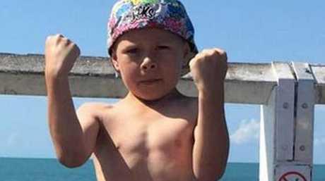 Jackson, son of Kris-Deann Sharpley. Both son and mother died in a murder tragedy at Biddeston, near Toowoomba.