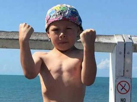 Jackson, son of Kris-Deann Sharpley. Both son and mother died in a murder tragedy at Biddeston, near Toowoomba.
