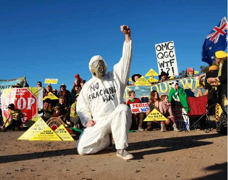Frackman will screen in a number of towns in New South Wales and Queensland.