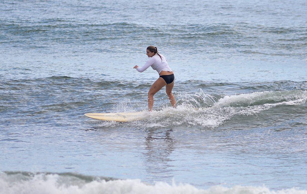 Wave of the day at Alexandra Headland. March 2, 2015 Photo: Warren Lynam / Sunshine Coast Daily