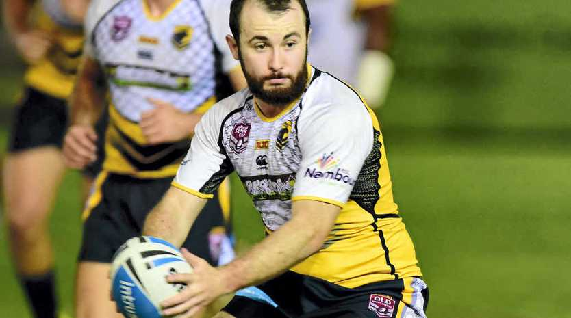 PLENTY TO OFFER: Former Melbourne Storm under-20 player Billy Kitt will play for the Northern Outlaws in tomorrow's Sunshine Coast Gympie Rugby League Nines competition.