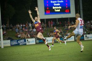 Sydney Swans vs Brisbane Lions at CEX stadium. 06 March 2015 Photo Trevor Veale / Coffs Coast Advocate