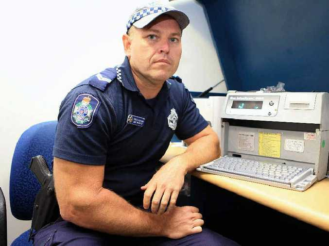 Senior Constable Mick Bleakley speaks about cheap, inaccurate breathalysers bought online.