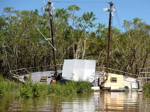 Boats mashed by TC Marcia may never float free