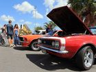 Bay Central Tavern's, Show and Shine attracted many classic and worked cars along with their dreamers and admirers.