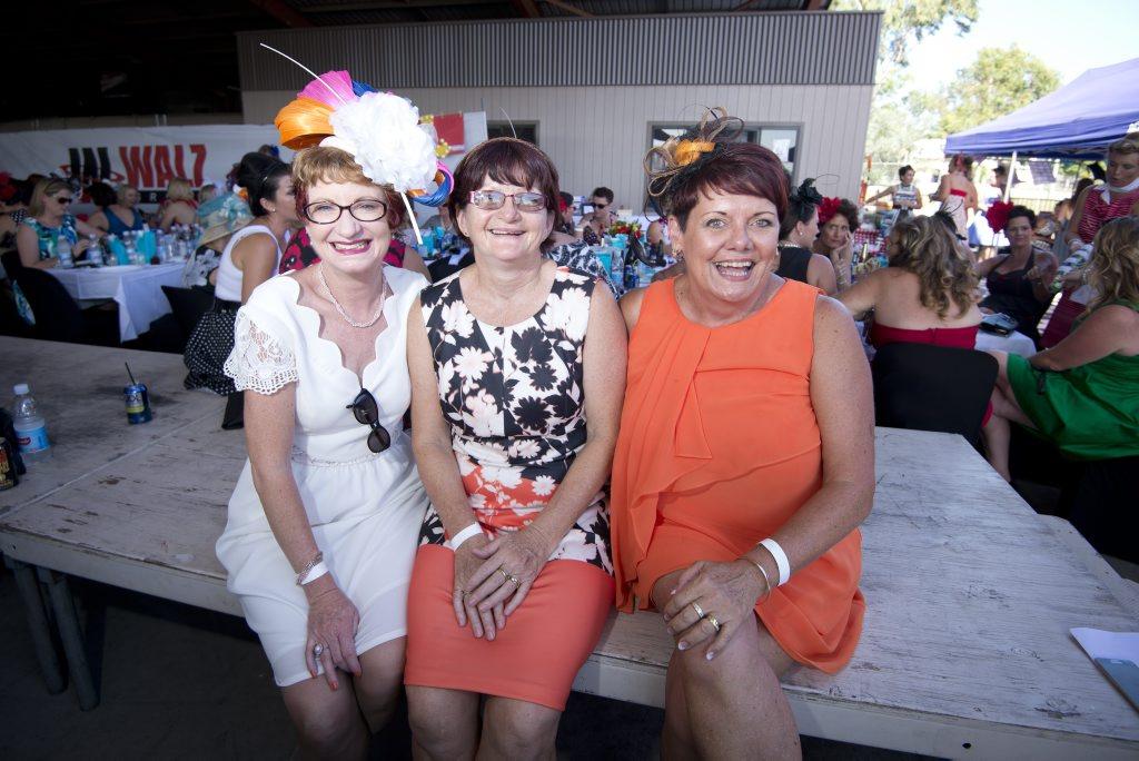 Annie Cook, Robyn Caughey and Narelle Mallon.