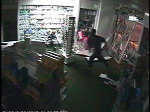 CCTV captures ram raid