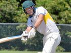 Nambour's Jon Wigley clips through the on-side during his 148 in the win over Maroochydore Red at Ron McMullin Oval on Saturday.