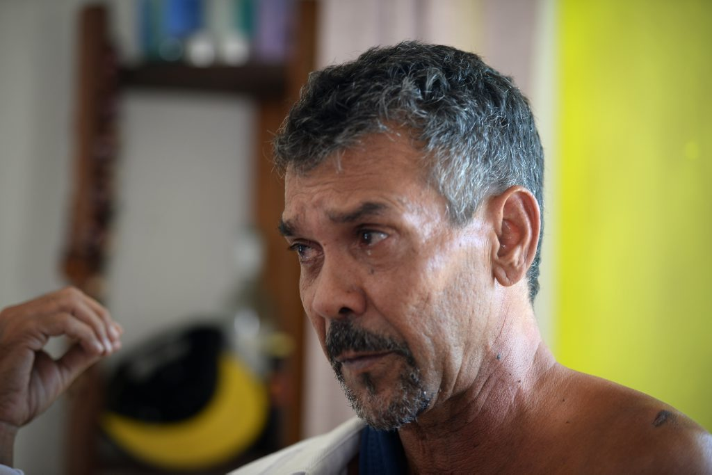 Malcolm Gooda was attacked on Friday, February 27. Photo Allan Reinikka / The Morning Bulletin
