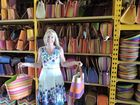 Bay businesswoman sells colourful bags from Madagascar